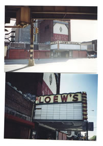 brooklyn: lowe's oriental movie house in disrepair